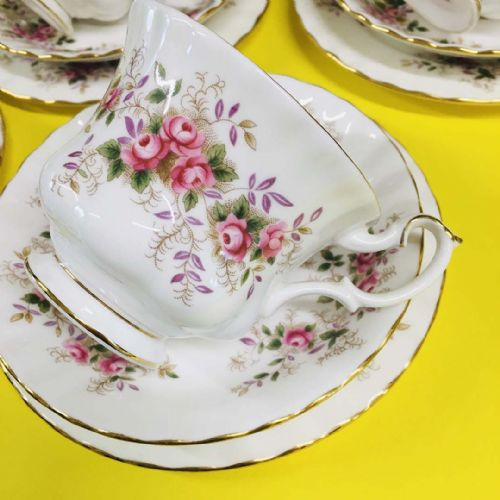 Royal Albert - Lavender Rose - Trio x 6